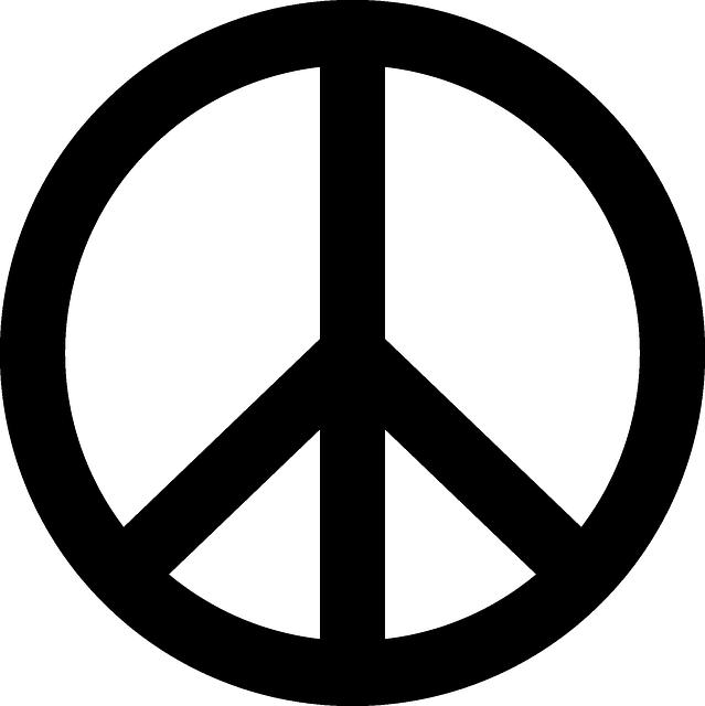 Peace Symbol, Peace, Symbol, Peace Sign, Sign, Freedom