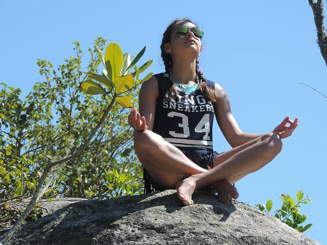 Peace, Yoga, Meditation, Child