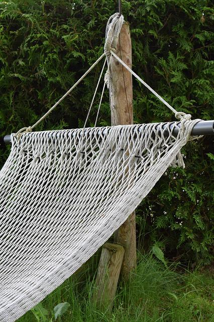 Hammock, Network, Resting Place, Rest, Peaceful, Cozy