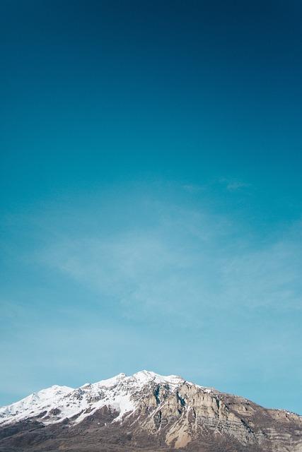 Mountain, Peak, Sky