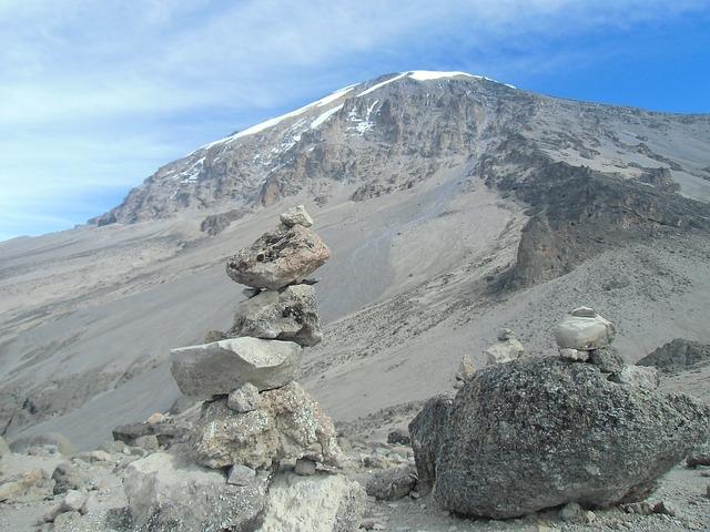 Kilimanjaro, Tanzania, Africa, Mountain, Peak, Sky