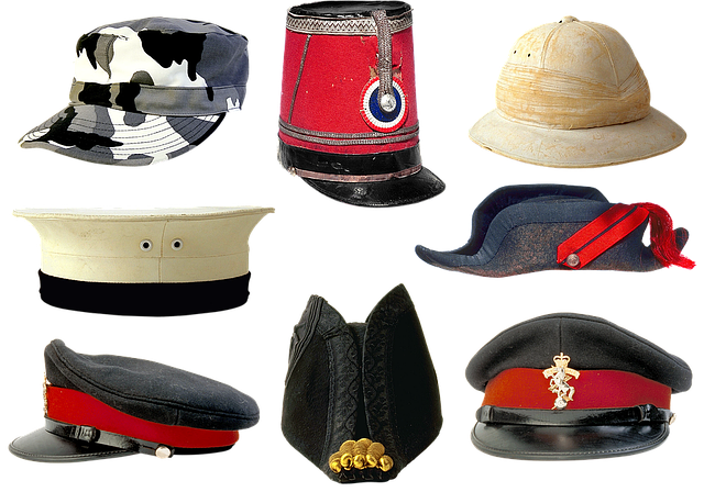 Military Uniforms, Peaked Cap, Kepi, Army, Camo