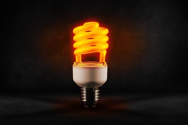 Pear, Sparlampe, Light, Lighting, Energy Saving, Lamp