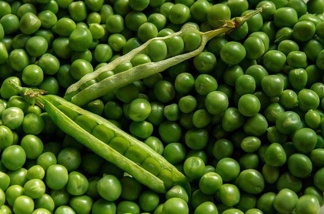 Textures, Background, Fresh, Peas, Green, Seed, Organic