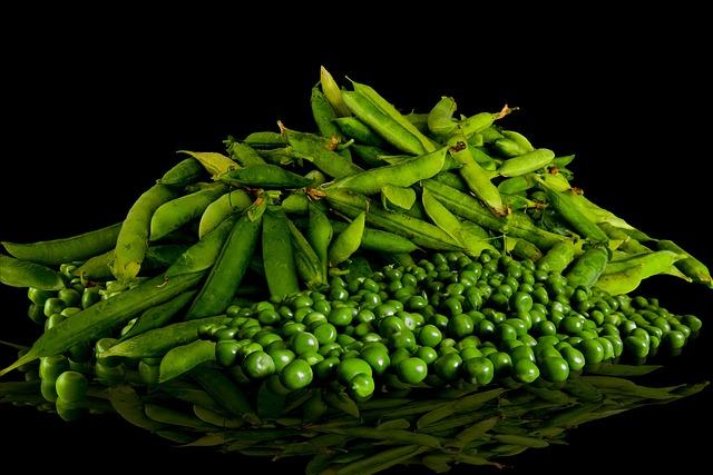 Eat, Drink, Peas, Vegetables, Garden, Shells, Harvest