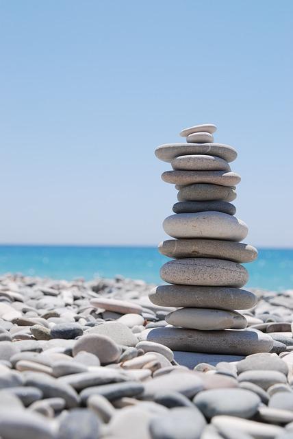 Zen, Stones, Pebble
