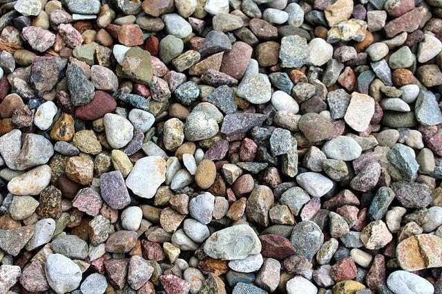 Pebbles, Colorful, Texture, The Background, Gardening