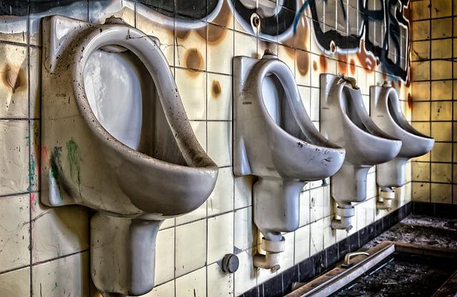 Toilet, Urinal, Lost Places, Wc, Pforphoto, Pee, Public