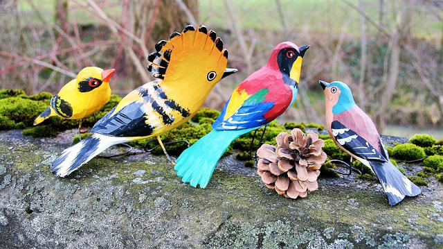 Wooden, Birds, Nature, Pen, At The Court Of, Bird, Beak