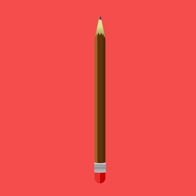 Pen, Pencil, Notes, Draw, Office, Eraser, Radiergummy