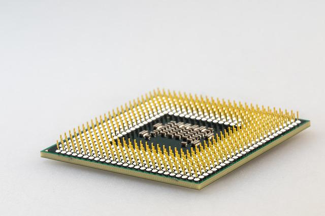 Cpu, Processor, Macro, Pen, Pin, Computer, Electronics