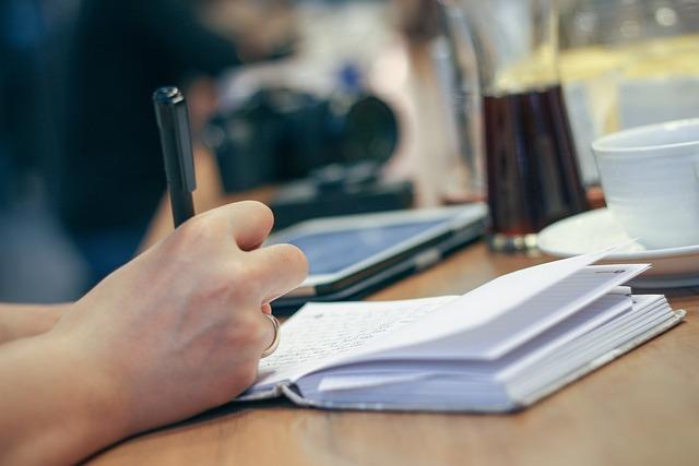 Hand, Write, Pen, Notebook, Journal, Planner, Writing