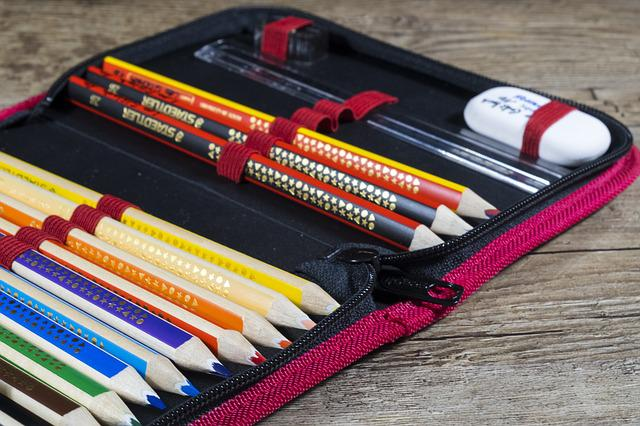 Back To School, School, Pencil Cases, Pencil Case