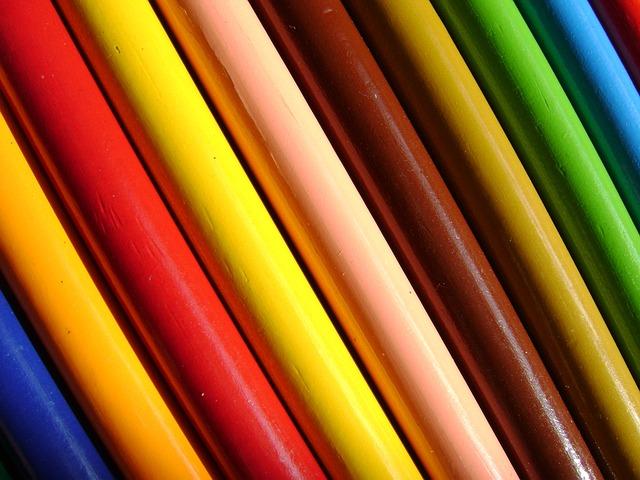 Colors, Color, Pencil, Rainbow