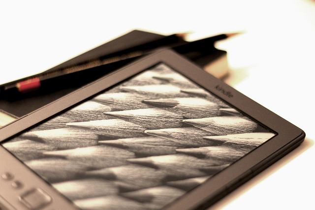 Kindle, Pencil, Read, Book, Ebook, Eink, Brown Book