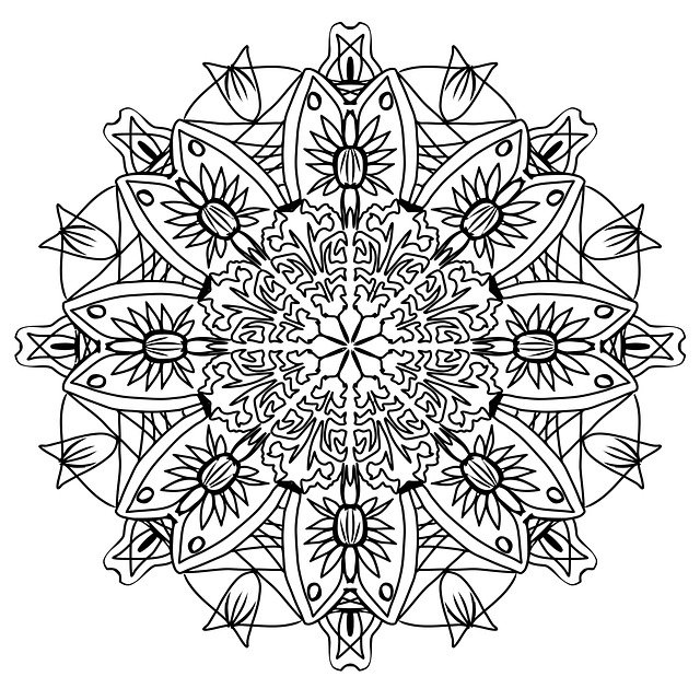Free photo Pencil Pattern Mandala Drawing Coloring Page - Max Pixel