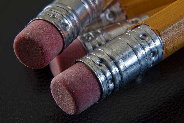 Pencil, Pencils, Eraser, School Supplies