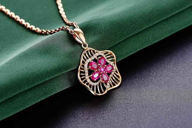 Jewelry, Ruby, Pendant