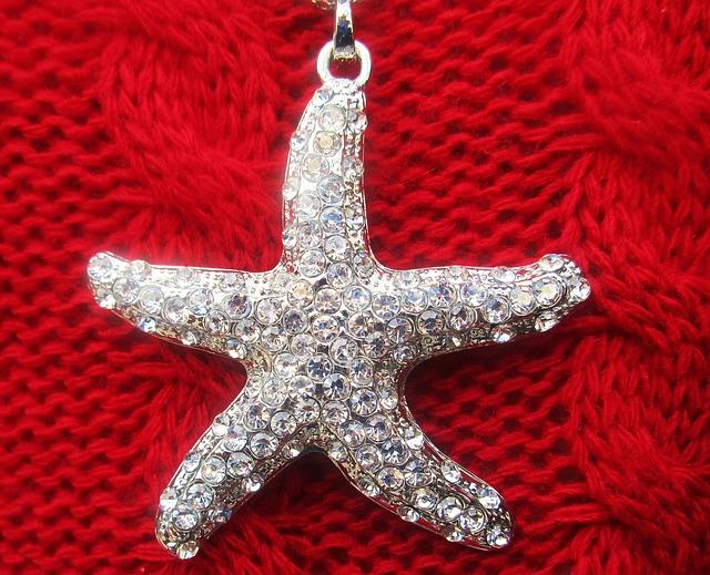 Star, Pendant, Trim, Glass