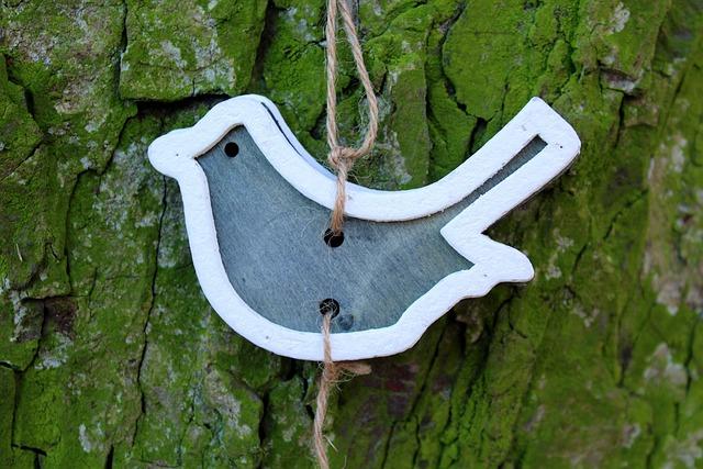 Bird, Ornament, Pendant, Decoration, Tree, Nature