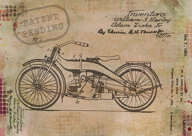 Motorcycle, Bike, Harley, Davidson, Patent, Pending