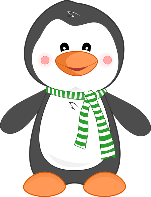 Penguin, Animal, Cute, Cartoon, Bird