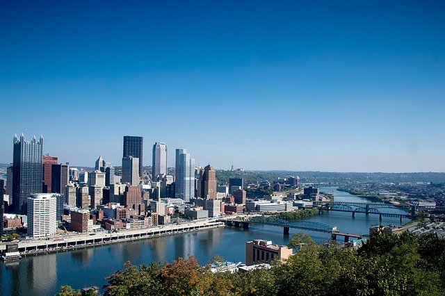 Pittsburgh, Pennsylvania, Skyline, Architecture, River