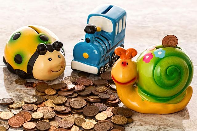 Piggy Bank, Savings, Coins, Cash, Penny Bank, Money Box