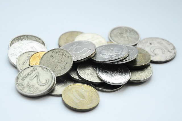 Ruble, Money, Penny, Coins, Russian, Kopek, Handful