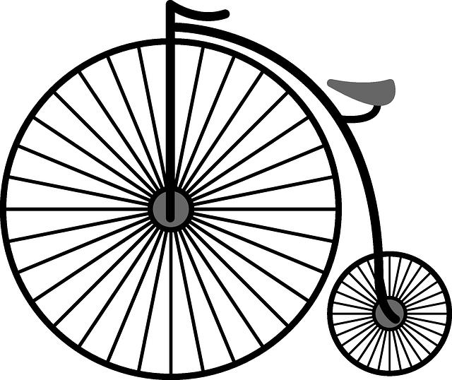 Penny-farthing, High-wheel Bicycle, High Wheeler