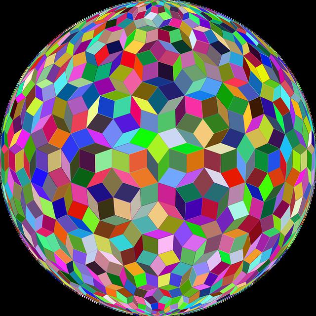 Penrose, Repeating, Pattern, Design, Rhombus, Polygons