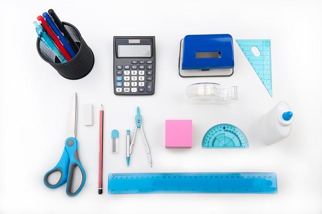 Ruler, Pencil, Pens, Supplies, Teach, Write
