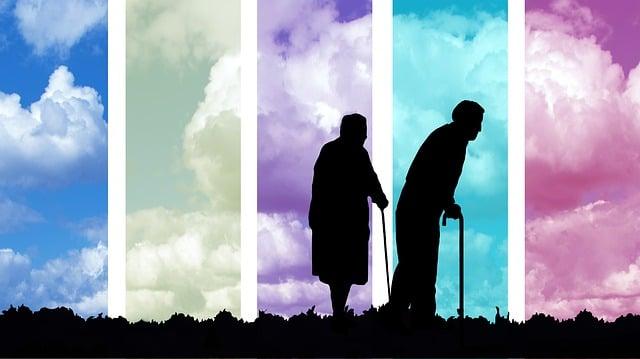 Age, Seniors, Old, Clouds, Pensioners, Human, Pensioner