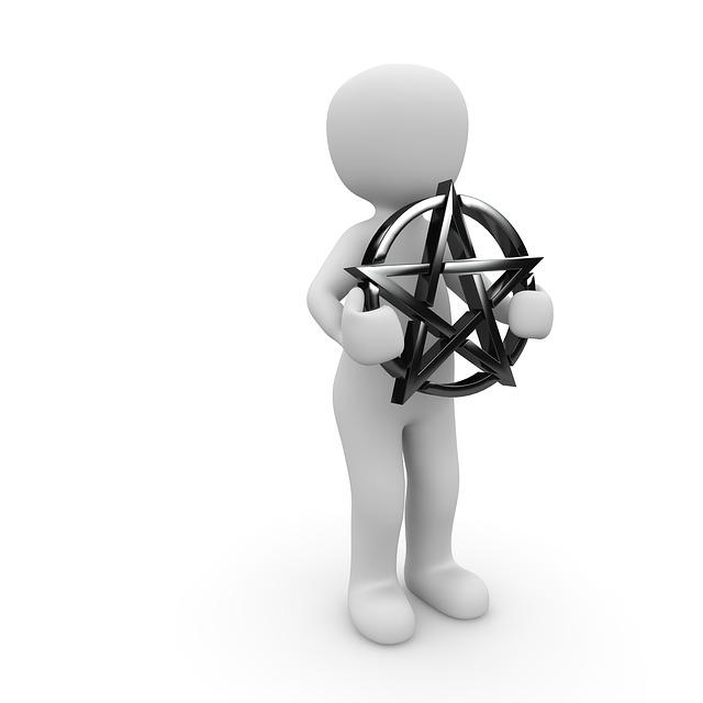 Pentacle, Symbol, Characters, Star