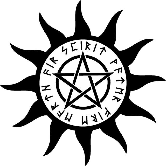 Pagan, Magic, Pentacle, Pentagram, Spirit, Symbol