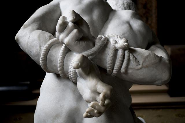 People, Adult, Man, Hand, Rope, Struggle, Captive