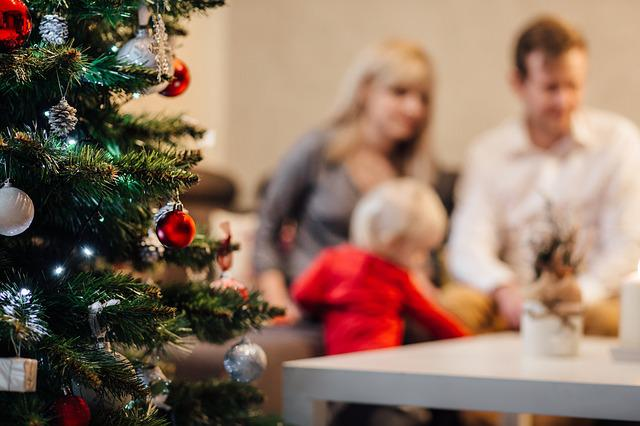 People, Advent, Baby, Background, Baubles, Blurry