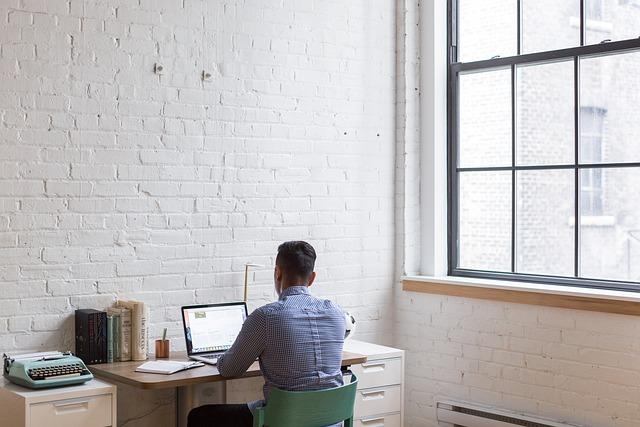 People, Man, Work, Office, Business, Apple, Macbook