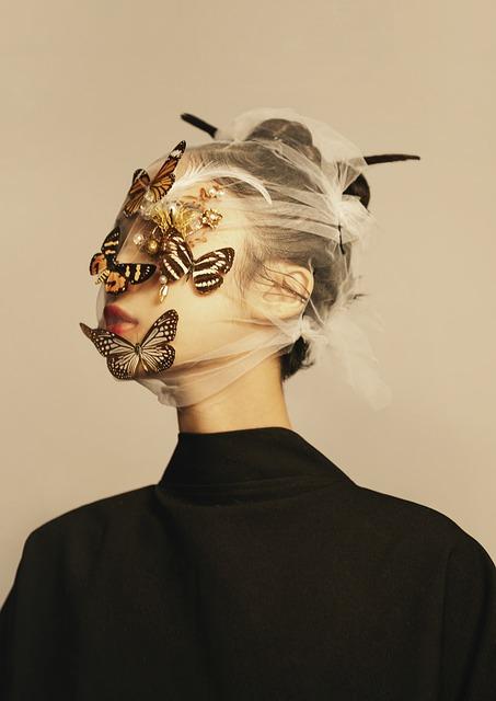 Woman, Butterflies, Fashion, People, Minimalism, Art