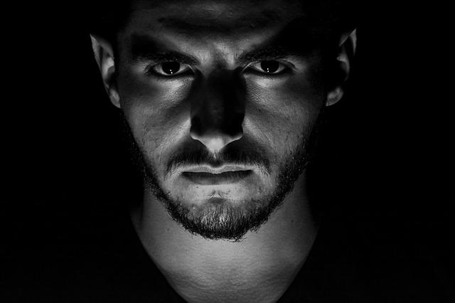 Portrait, People, Man, Eyes, Face, Fort, Dark