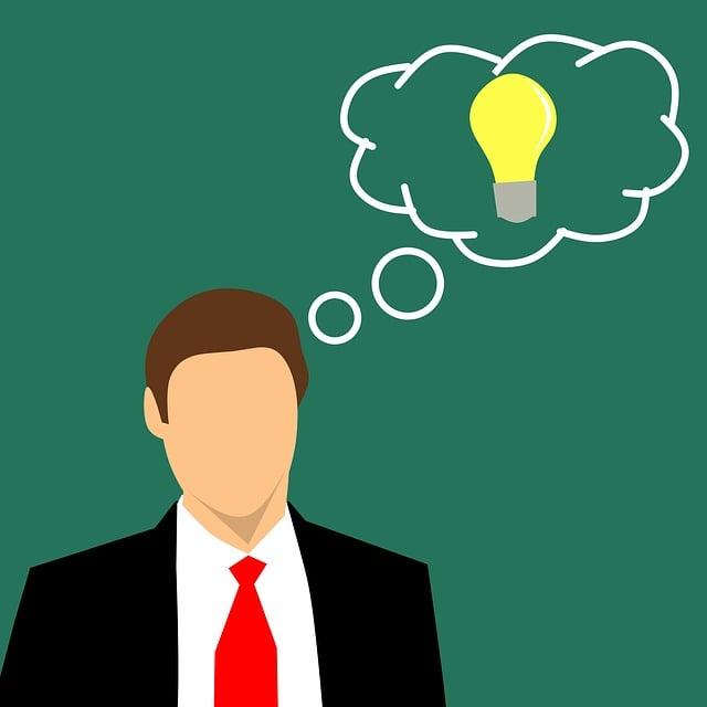 Business, Man, People, Inspiration, Bulb, Conceptual