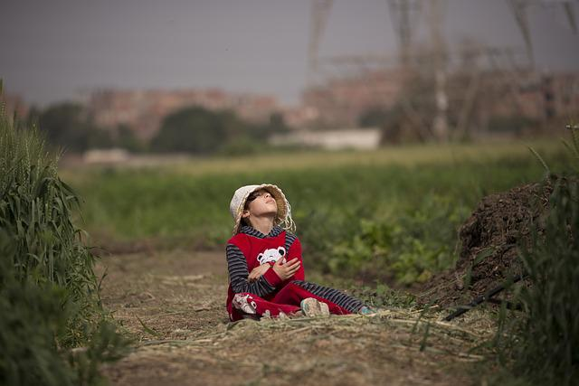 Child, Outdoors, People, Nature, Leisure, Fun, Girl