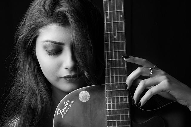 People, Woman, Music, Portrait, Young, Beautiful