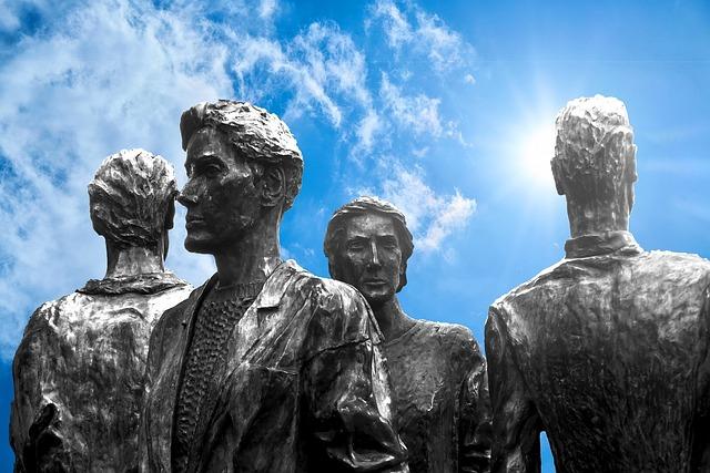 Sculpture, Bronze, People