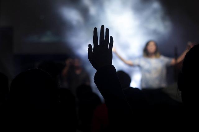 People, Woman, Praise, Worship, Shadow, Stage, Music