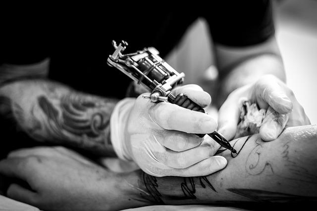 People, Adult, One, Women, Male, Hand, Tattoo, Portrait