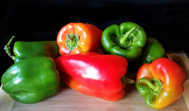 Capsicum, Pepper, Food, Vegetable, Healthy, Bell