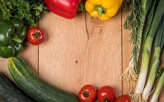 Vegetables, Pepper, Tomatoes, Garden, Health, Healthy