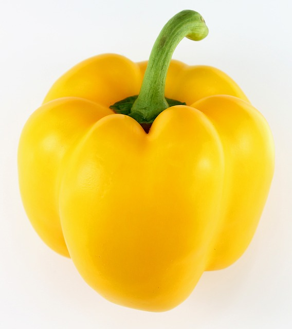 Free photo Pepper Paprika Yellow Yellow Peppers Vegetables