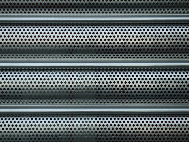 Sheet, Holes, Roller Shutter, Perforated Sheet, Metal